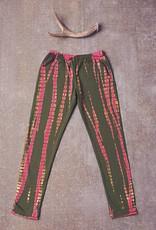 Jak & Peppar Leggings - Dazed and Confused Leggings: Electric Pink Olive
