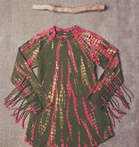 Jak & Peppar Top - All Fringed Out Top: Electric Pink Olive