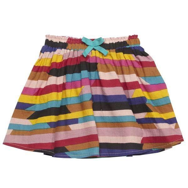 Pink Chicken Skirt - Luna Skirt: AG Print