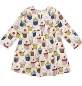 Pink Chicken Dress - Adele Dress: Sandshell Cupcake