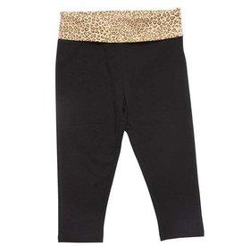 Pink Chicken Legging - Yoga Legging with Leopard print