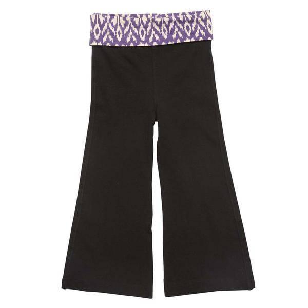 Pink Chicken Pants - Josie Pants with purple diamonds