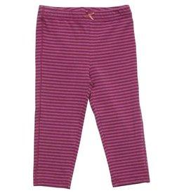 Pink Chicken Leggings - Leggings: Meadow mauve skinny striped