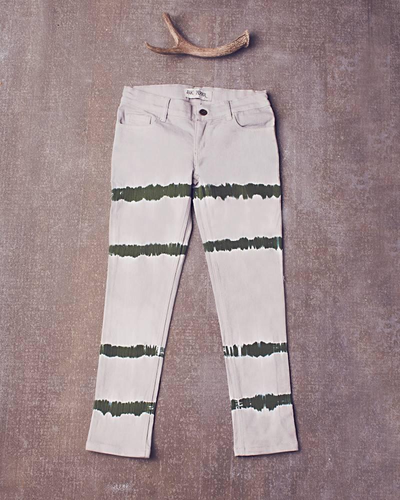 Jak & Peppar Jeans - Peppar Prep School Skinnies: Dazed Olive