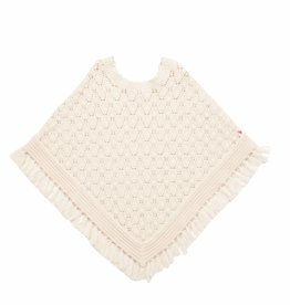 Pink Chicken Poncho - Solid Poncho in