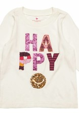 Pink Chicken T-Shirt - Long Sleeve Graphic Tee Happy
