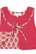 Pink Chicken Vest - Quilted Vest in