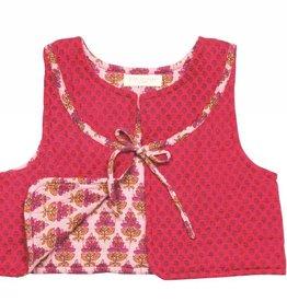Pink Chicken Vest - Quilted Vest in