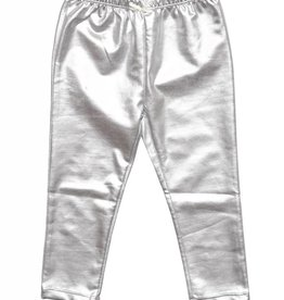 Pink Chicken LAME LEGGINGS SILVER