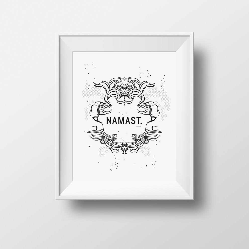 """Affiche """"Namas T."""""""