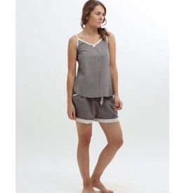 Vikolino Vikolino 100% European Washed Linen Camisole