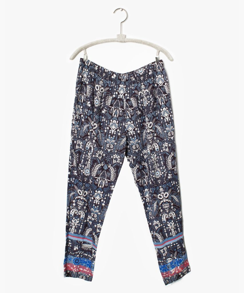 Xirena Xirena Paige Printed Gauze Pant