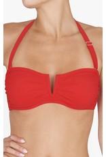 Shan Shan Swim Bright Like A Diamond Bandeau Bikini Top