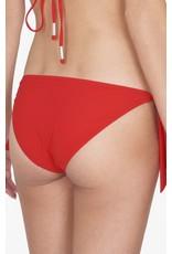 Shan Shan Swim Bright Like A Diamond Tie Bikini Bottom Ruby