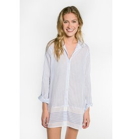 PJ Salvage PJ Salvage Feelin' Blue Night Shirt