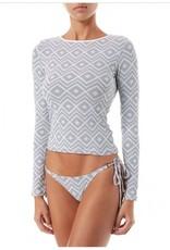 Melissa Odabash Melissa Odabash Cali Long Sleeve Swim Top