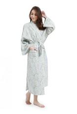 Mahogany Mahogany 100% Cotton Long Robe Samira Print