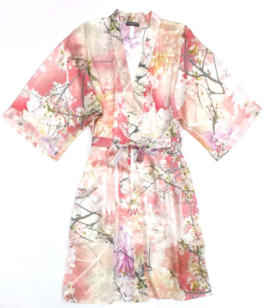 Samantha chang samantha chang classic silk kimono lilies and lace samantha chang samantha chang classic silk kimono mightylinksfo