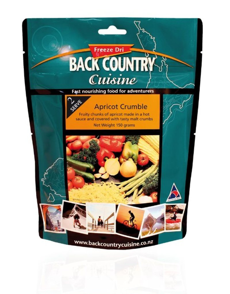 Back Country Cuisine Back Country Apricot Crumble