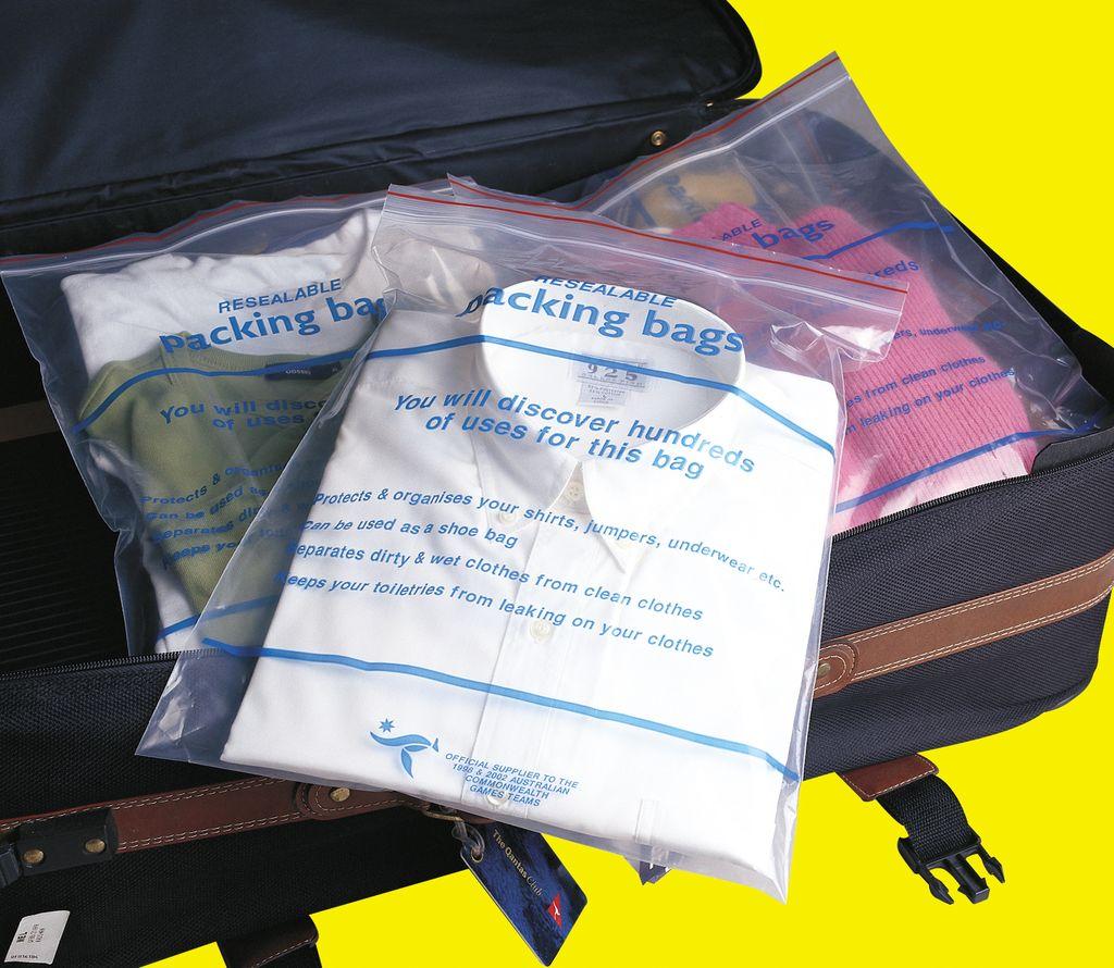 Korjo Korjo Resealable Packing Bags