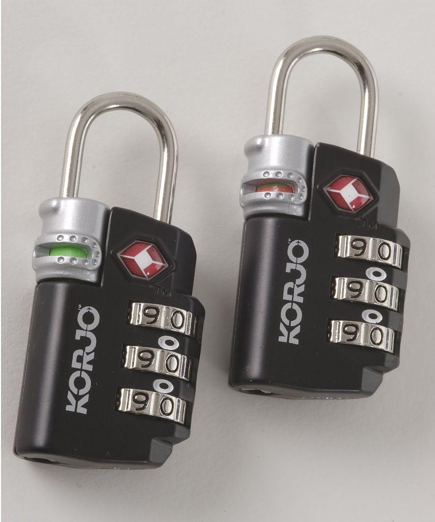 Korjo Korjo TSA Compliant Lock with Indicator