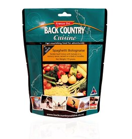 Back Country Cuisine Back Country Spaghetti Bolognaise