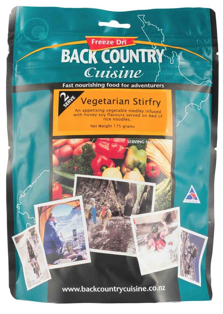 Back Country Cuisine Back Country Vegetarian Stirfry
