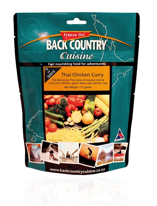 Back Country Cuisine Back Country Thai Chicken Curry