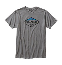 Patagonia Patagonia Mens Fitz Roy Crest Cotton/Poly T-Shirt
