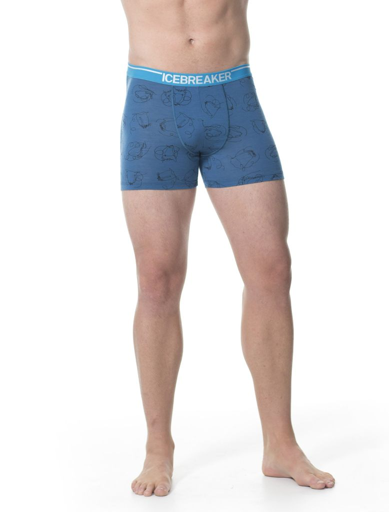 Icebreaker Icebreaker Mens Anatomica Boxers Heads Up