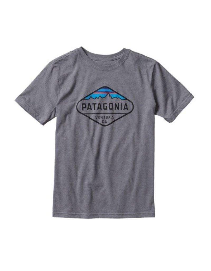Patagonia Patagonia Boys' Fitz Roy Crest Cotton/Poly T-Shirt