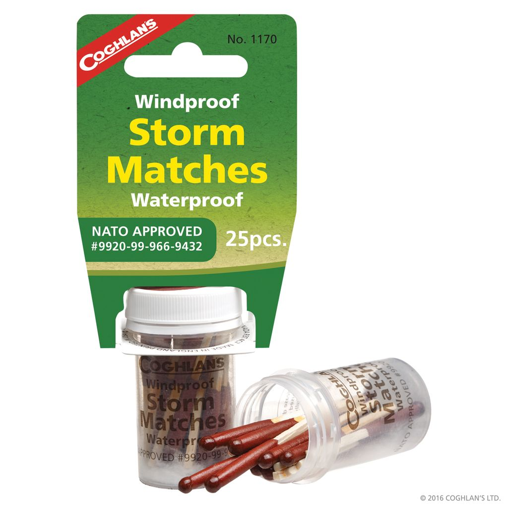 Coghlan's Coghlan's Wind/Waterproof Storm Matches