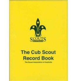 Scout Cub Scout Record Book