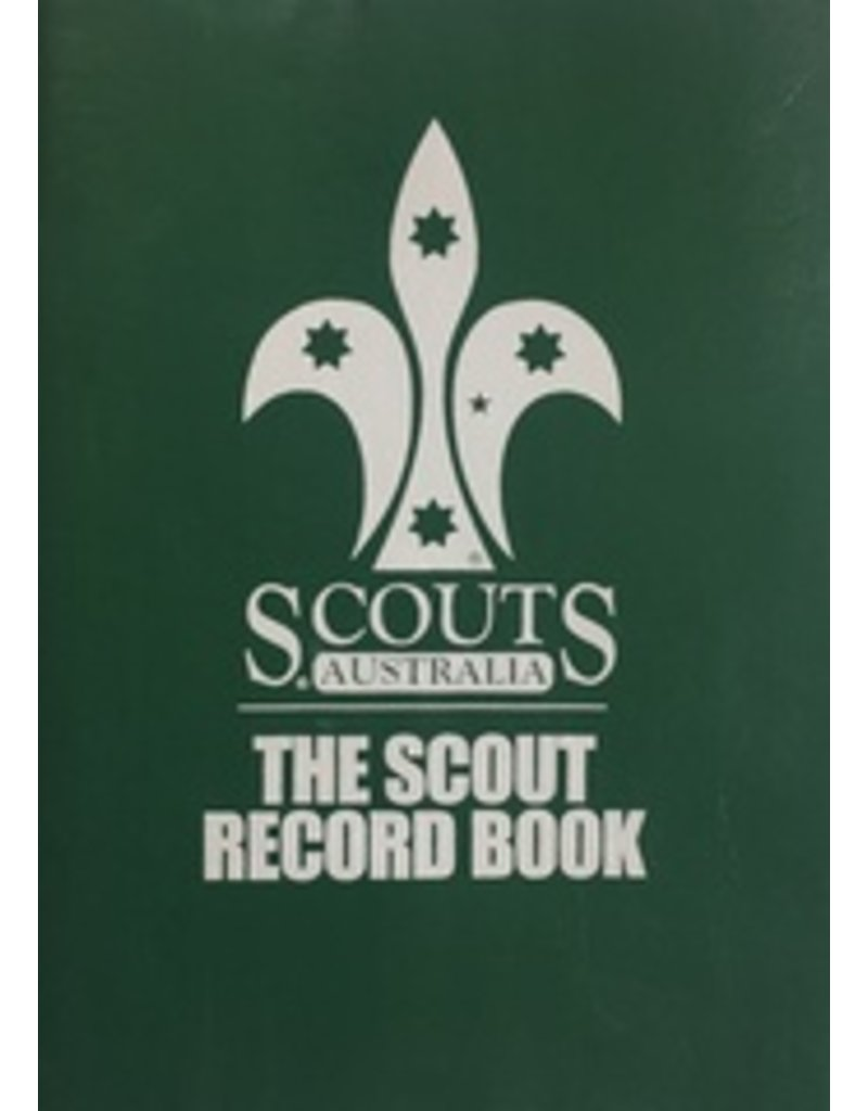 Scout Scout Record Book