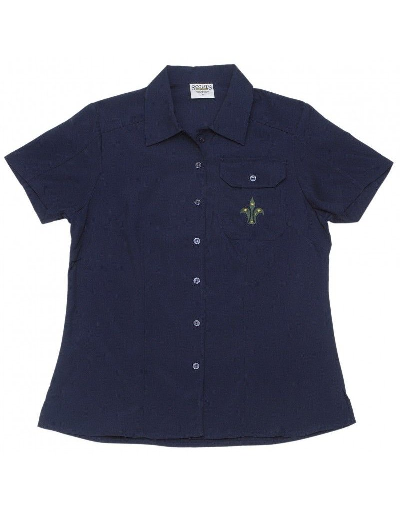 Scout Leader Wmns Button Shirt
