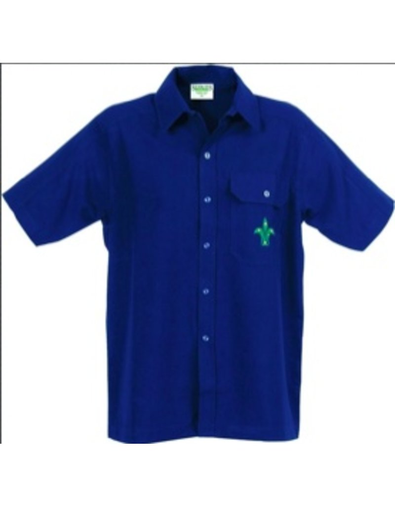 Scout Leader Mens Button Shirt