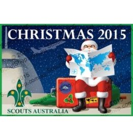 Scout Scout Christmas Swap Badge 2015