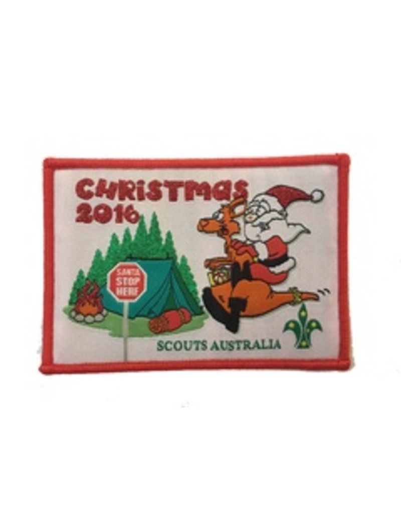 Scout Scout Christmas Swap Badge 2016