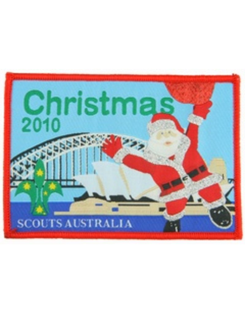 Scout Christmas Swap Badge 2010