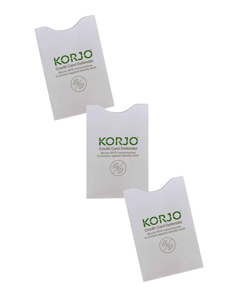 Korjo Korjo Credit Card Defender 3pk