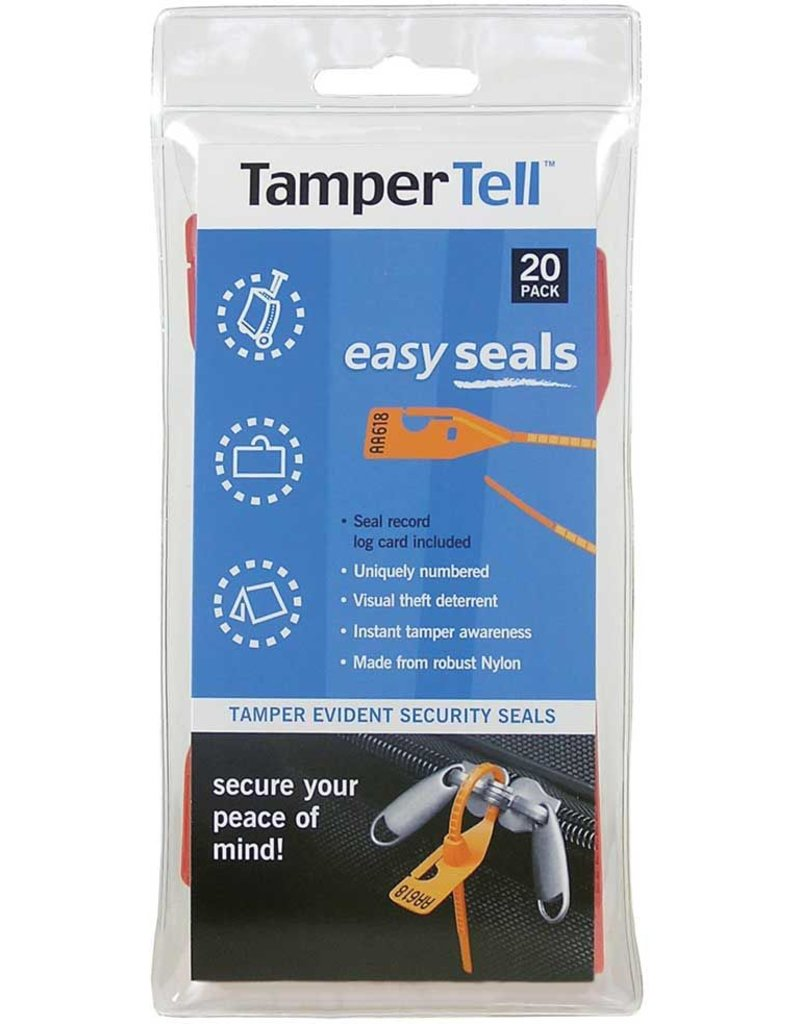 Tampertells Easy Seals Standard 20pk