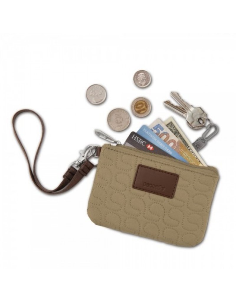Pacsafe Pacsafe RFIDsafe W50 RFID blocking coin & card purse