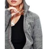 Icebreaker Icebreaker Women's Quantum LS Zip Hood
