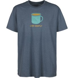 Patagonia Patagonia Mens Live Simply Mornings Cotton/Poly Responsibili-Tee
