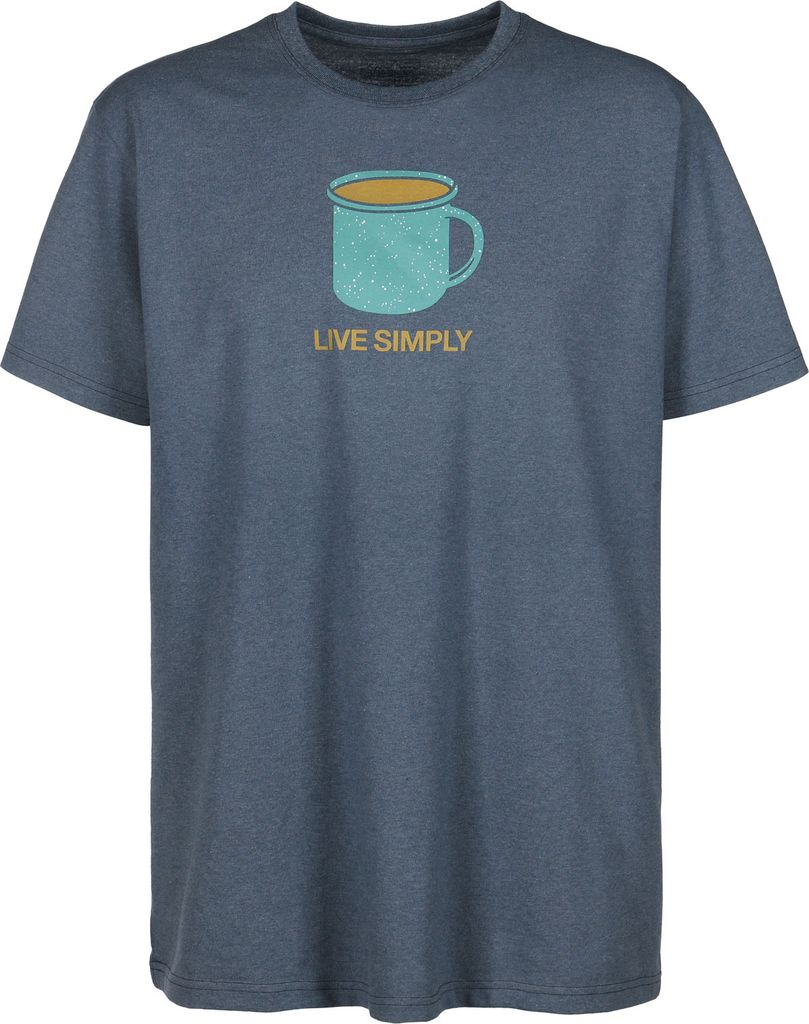 Patagonia Patagonia Men's Live Simply Mornings Cotton/Poly Responsibili-Tee