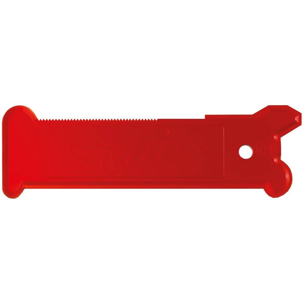 SWIX Grattoir plastic rouge Swix