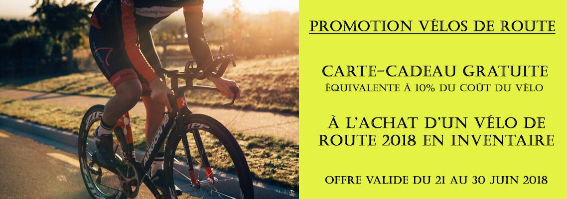 Promo vélos de route
