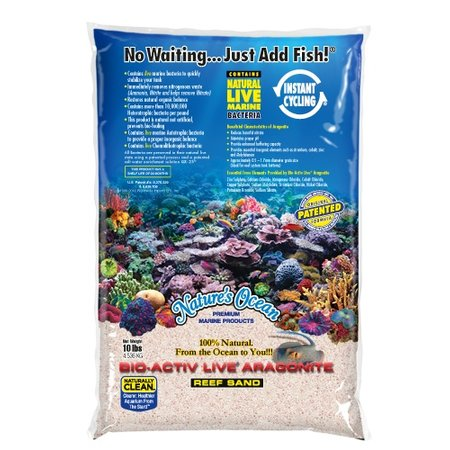 Natures Ocean Live Reef Sand 20lb