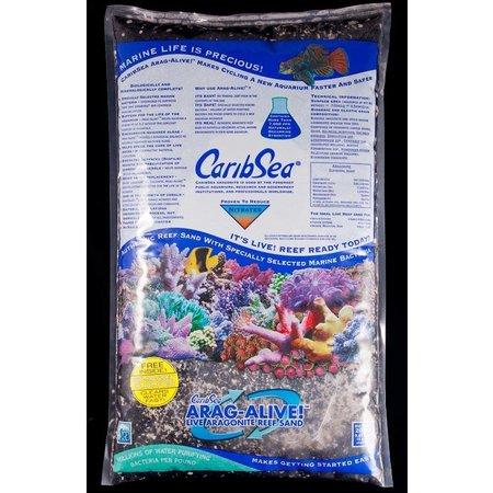 Caribsea Arag-Alive Indo - Pacific Black Sand 20lb