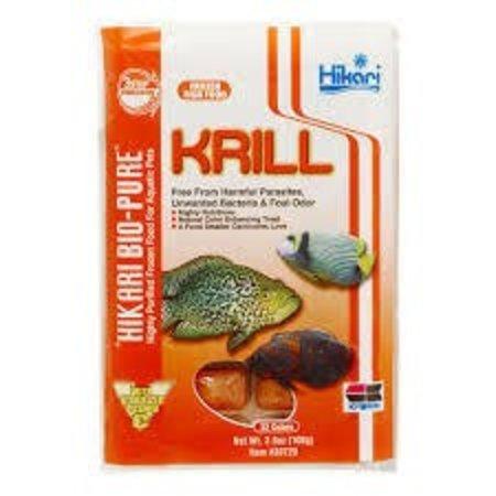 Hikari krill 3.5oz Cube